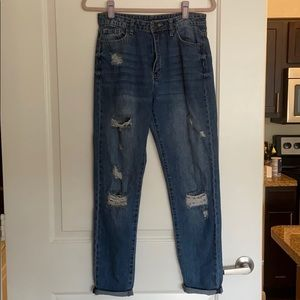 R 1894 ripped jeans